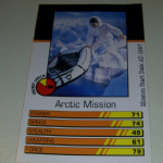 Action Man Power Cards 1996 Arctic Mission Trading card @sold@